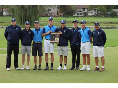 IHSA BOYS GOLF REGIONAL CHAMPS