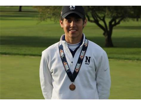 Anthony King - Boys Golf All State (7th Place)
