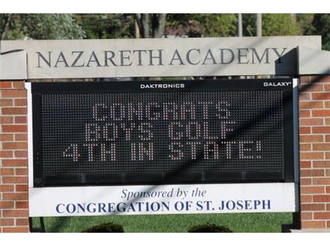 Boys Golf 4th Place in State