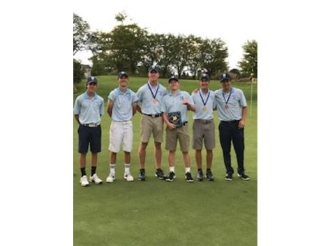 1st Place Nazareth Boys Golf Invite