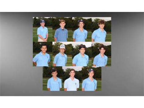 Boys Varsity Golf 2020