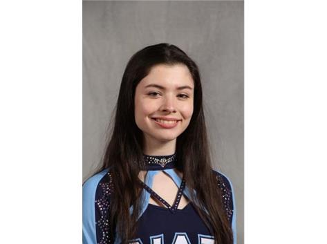 Senior Gwenyth Acosta - Cheer