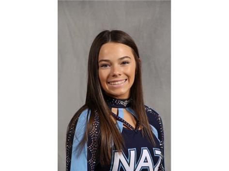 Senior Maeghen McDevitt - Cheer