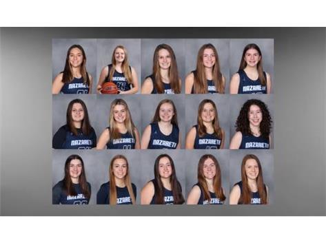 Girls Varsity Basketball 2021