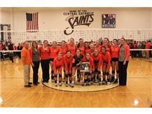 Lady Iron Win IHSA Regional Volleyball Championship