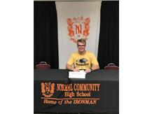 Nick Gilhaus signing to play baseball at University of Wisconsin-Milwaukee