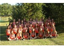 2020 Girls Cross Country Team