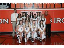 2020-21 Freshmen Girls Basketball Team
