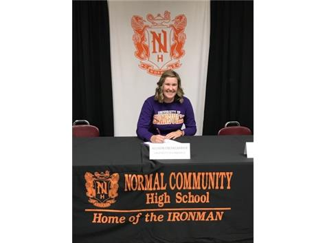 Allison Enchelmayer signing to play golf at University of Evansville