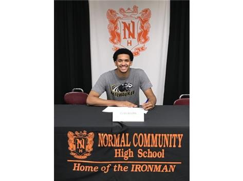 CJ Wilbourn signing to play basketball at University of Wisconsin-Milwaukee