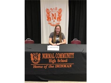 Grace Blair signing to play soccer at Lindenwood University
