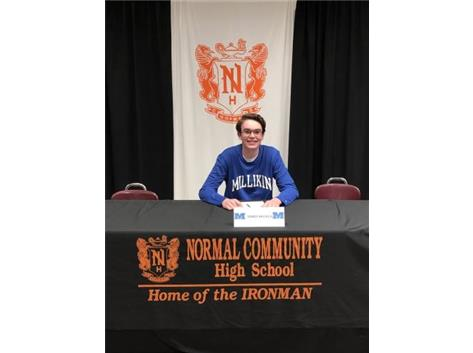 James Broach signing to play tennis at Millikin University