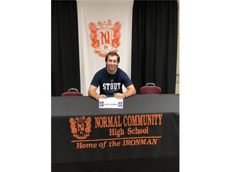 Jack Schirpke signing to play baseball at University of Wisconsin-Stout