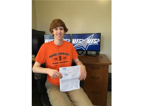 Collin Fitzgerald signing with University of Illinois-Springfield to run Cross Country and Track & Field