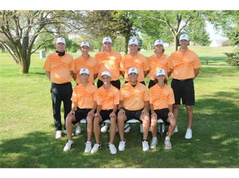 2020 Varsity Boys Golf Team