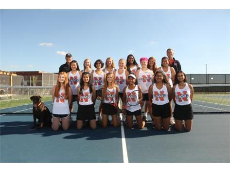 2020 Varsity Girls Tennis Team