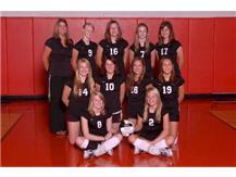 2008 Freshman Volleyball Team