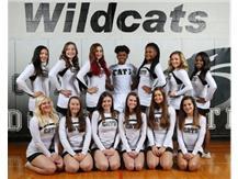 2017-2018 JV Basketball Cheerleading