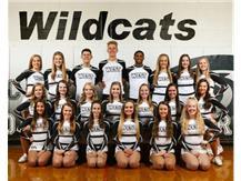 2017-2018 Varsity Basketball Cheerleading