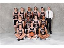 2008-09 Sophomore Boys Basketball Team