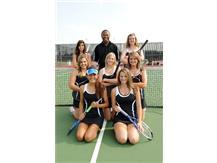2010 Varsity Girls Tennis Team