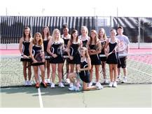 2010 JV Girls Tennis Team