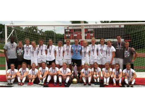 Normal West Varsity Girls Soccer, 2nd Place in State. Congratulations!