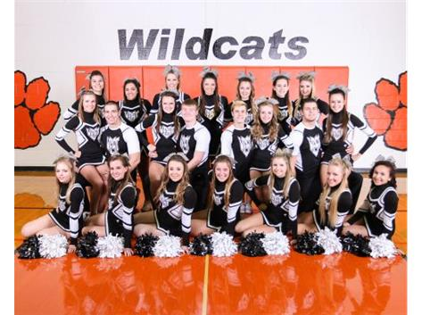 2014-2015 Varsity Basketball Cheerleading