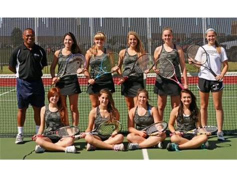 2015 Varsity Girls Tennis