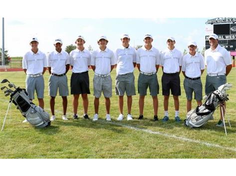 2016 Varsity Boys Golf Team