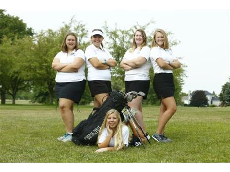 2018 Girls Golf Team