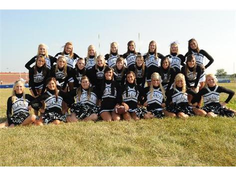 2011 Varsity Football Cheerleading