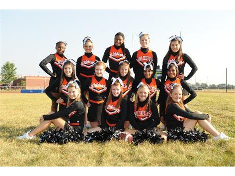 2011 Freshman Football Cheerleading