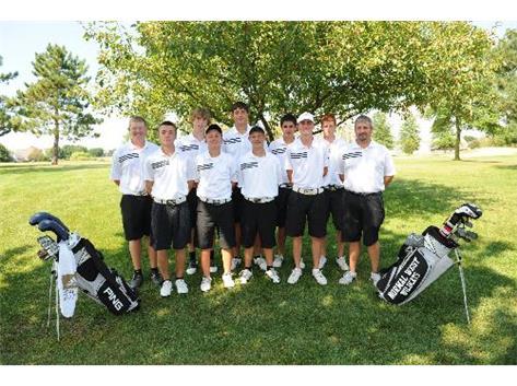 2011 Varsity Boys Golf