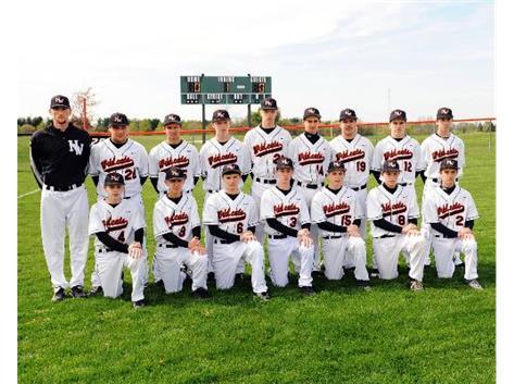 2012 Freshmen Baseball