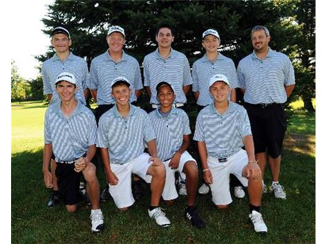 2012 Varsity Boys Golf Team