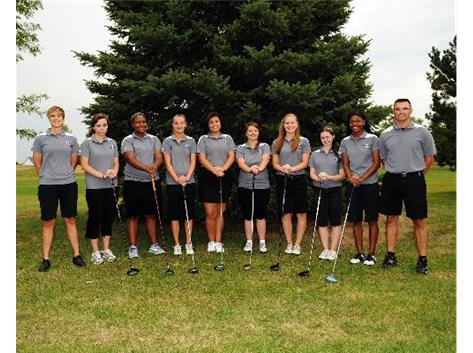 2012 Varsity Girls Golf
