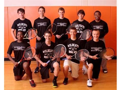2013 Varsity Boys Tennis