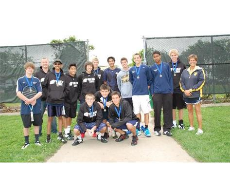 Boys Tennis - Varsity Team 2011/2012