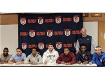 Congratulations to our Student Athletes and their commitment to play Football at the next level.
