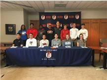 Congratulations to all of our athletes and their commitment to participate in college athletics!