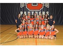 2014 Sideline Varsity Cheer Team