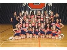 2014 Sideline JV Cheer Team
