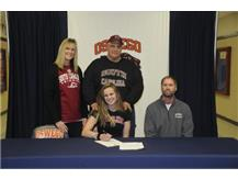Mari Kraus signs to continue Swimming at the University of South Carolina
