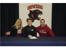 Connor Schulte signs to continue playing Football at Rose Hulman Institute of Technology
