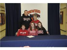 Kaylee Zimbelmann signs to continue playing Soccer at University of Indianapolis.