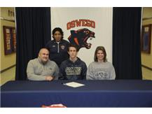 Jesse Corneliusen signs to continue playing Soccer at South Dakota School of Mines.