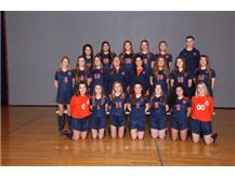 2018 Varsity Girls Soccer Team