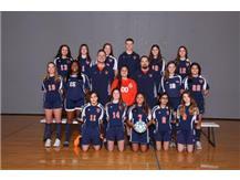 2018 Freshman Girls Soccer Team