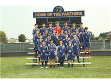 2018 Freshmen Boys Soccer Team